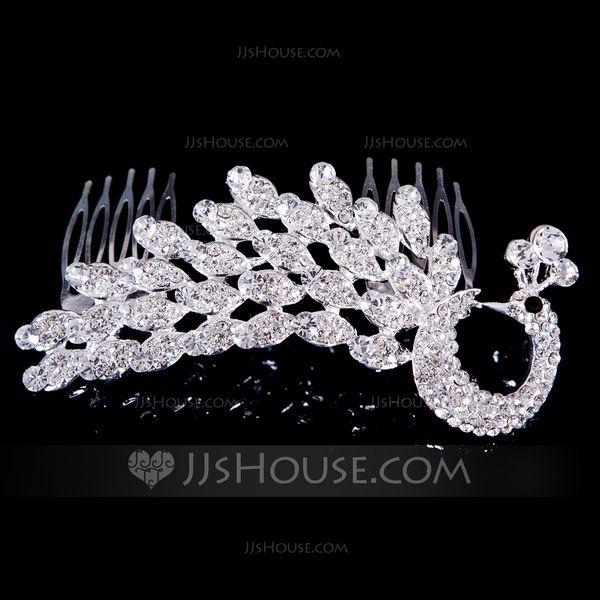 Fashional Alloy/Rhinestones Ladies' Hair Jewelry (011040340)