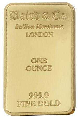 1 Ounce Gold Bar Gold Bullion Bars Gold Bar Gold