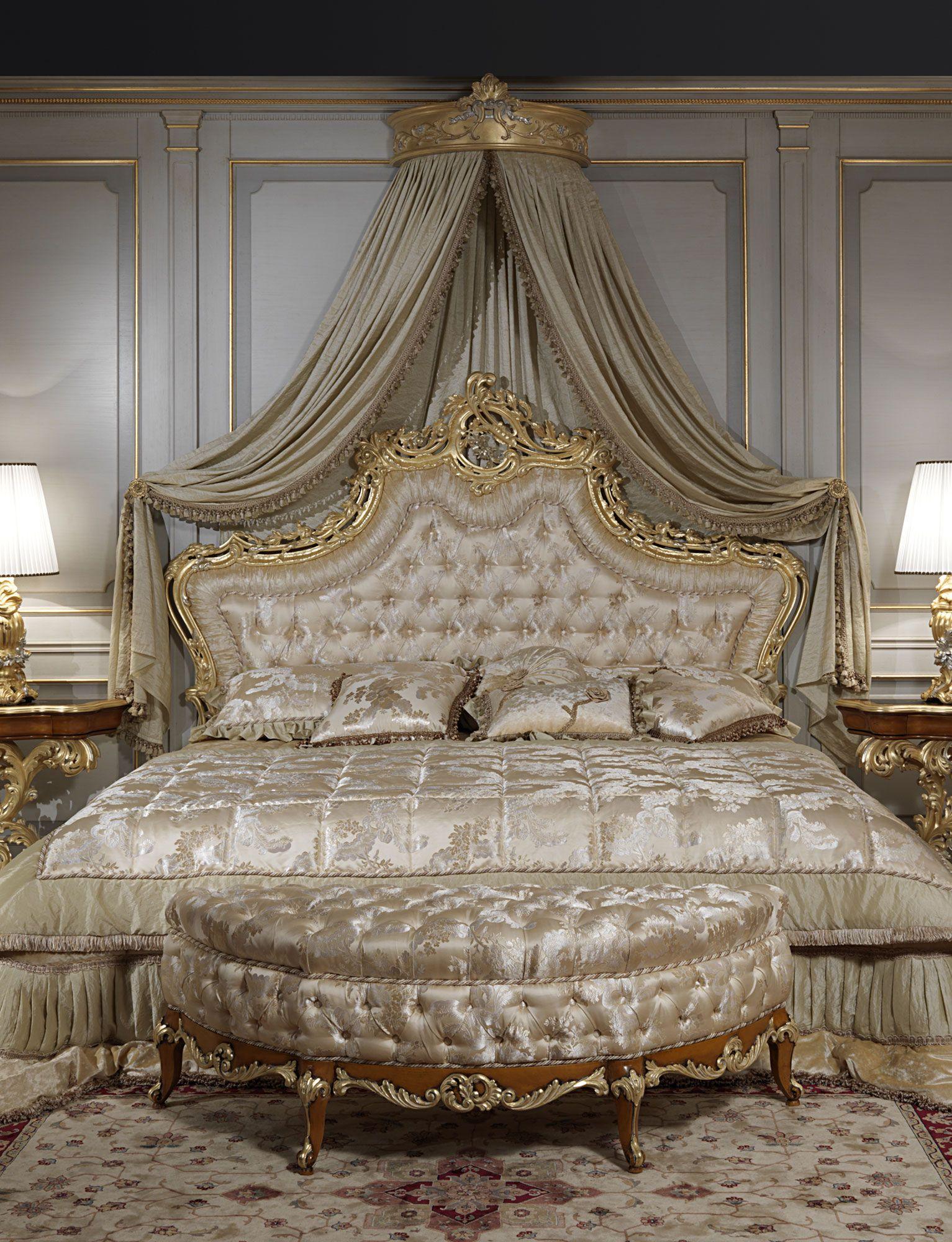 Luxury Classic Bedroom Roman Baroque Style Roskoshnye Postelnye Prinadlezhnosti Dizajn Komnaty Otdyha Roskoshnye Spalni