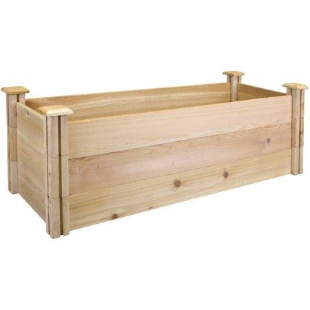 Patio & Garden Cedar raised garden beds, Garden beds