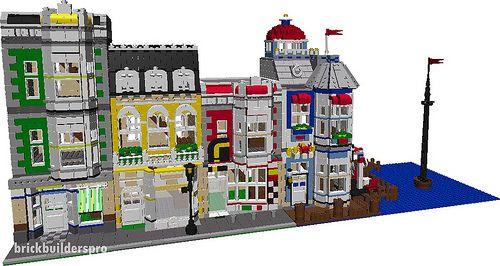 Port Seaside Village Pdf Instructions Lego Building And Pdf
