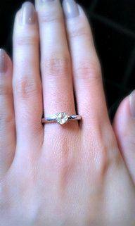 Moderne Rough Diamond Ring     #uniquering #personalize #weddingrings