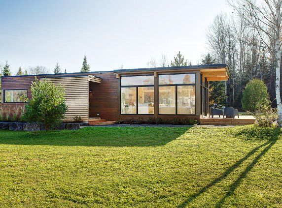 Maisons usin es lofts modulaires et bien plus encore cool shelters pinterest maison for Mini maison usinee