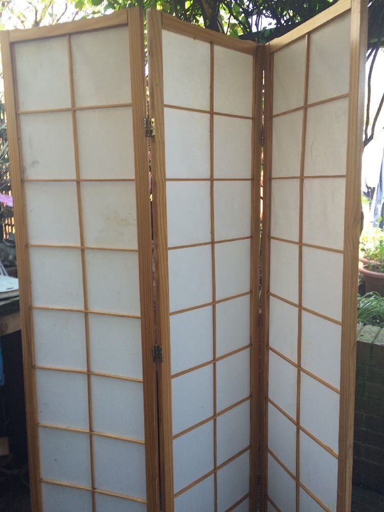 Japanese Screen Room Divider In Home Furniture Diy Home Decor