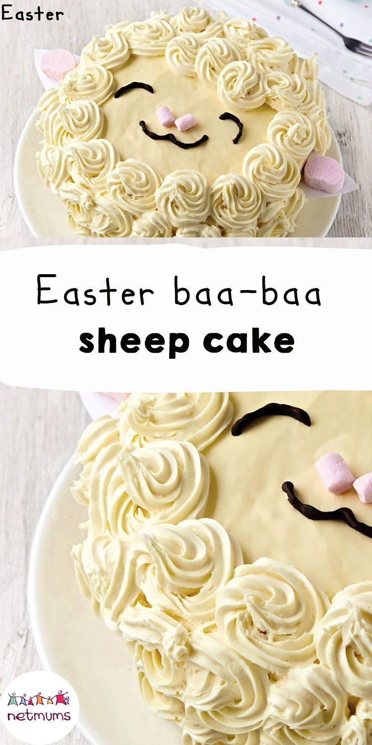 Easter baabaa sheep cake how cute is this little lamb