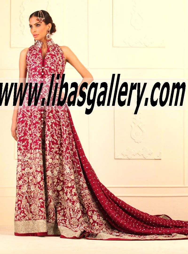 The Best Wedding Dresses Of New Year 2015 By ZAINAB CHOTTANI See Newest