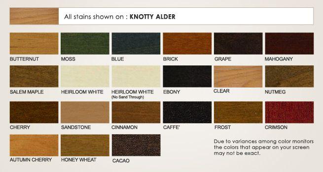 Knotty Alder Stains Dewils Custom Cabinetry Red Oak Stain Oak Stain Staining Cabinets