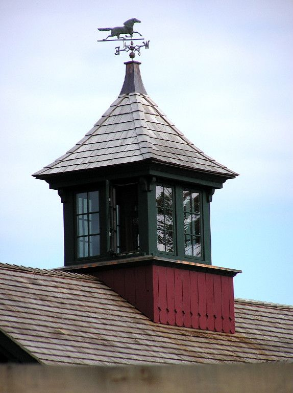 Cupolas Custom Square Cupola With Operating Glass Windows