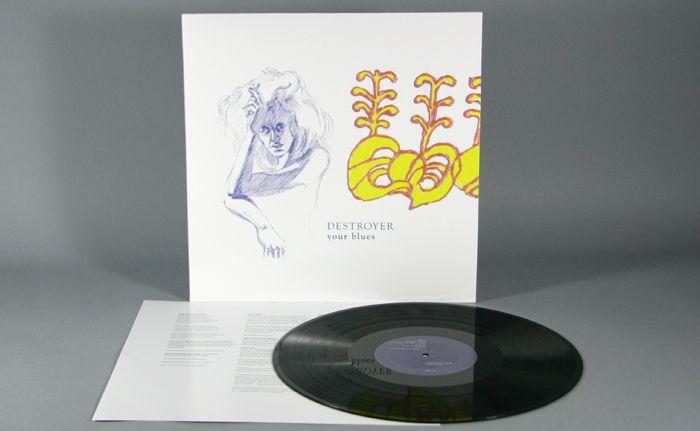 Destroyer Your Blues 12 180g Vinyl Lp Blue Music Instruments