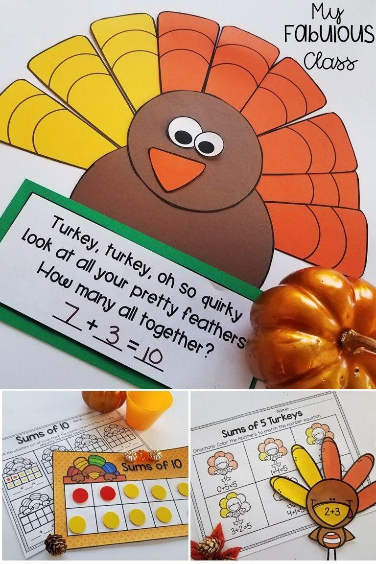 Turkey Math Craft
