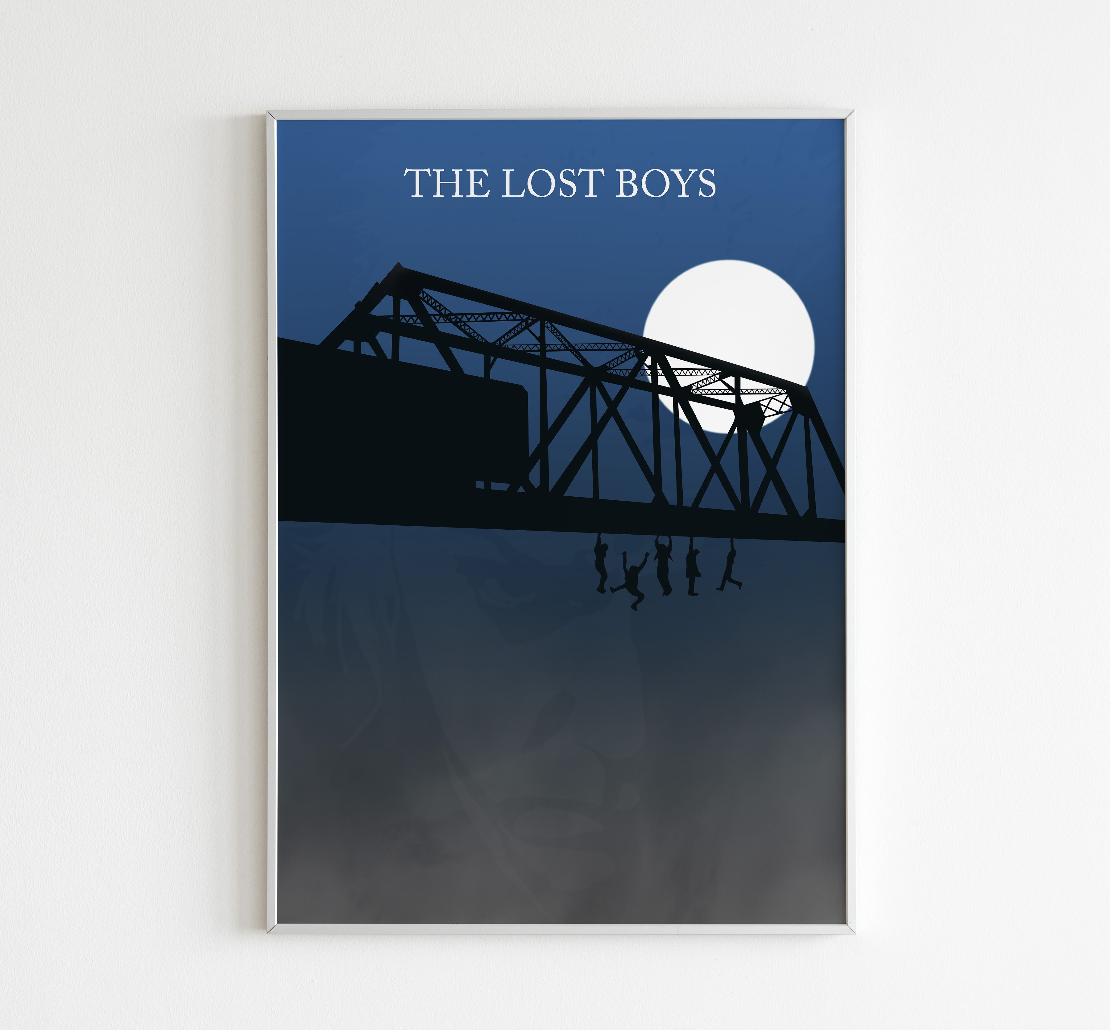 Lost Boys Poster Set Movie Poster Art Home Decor Bedroom Poster Wall Art Film Print Classic Movie Vampire Poster 80/'s Movie Christmas Gift