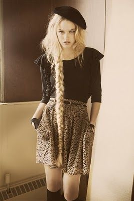 This is the reason to grow my hair, beautiful braids!