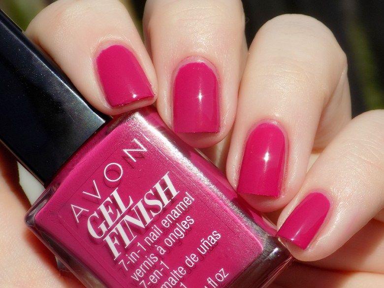 Avon Gel Finish Rose Noir Nail Polish Swatches And Review Nail Polish Avon Nails Nails