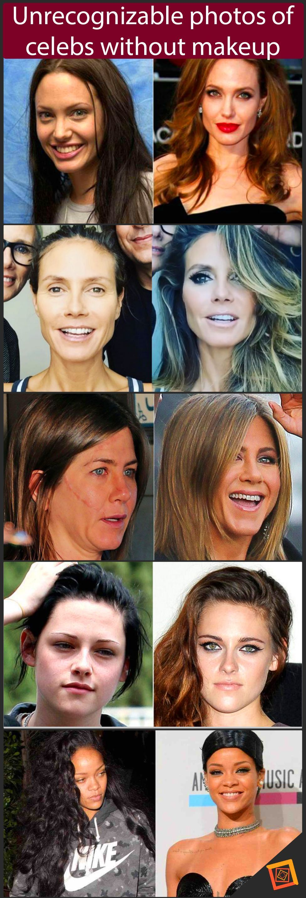 Photo of Top 20 shocking photos of Hollywood celebrities without makeup #epic #epicfail # …