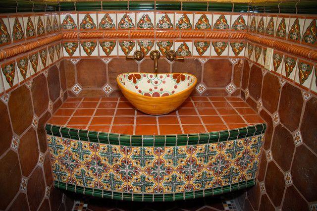 1000 images about Tiles Beautiful Tiles on Pinterest Chevron tile Blue tiles  and Glazed tiles. Spanish Tile Bathroom Ideas