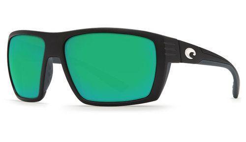 Costa Del Mar Hamlin Sunglasses Matte Black Frame/Green Mirror Lens 580P