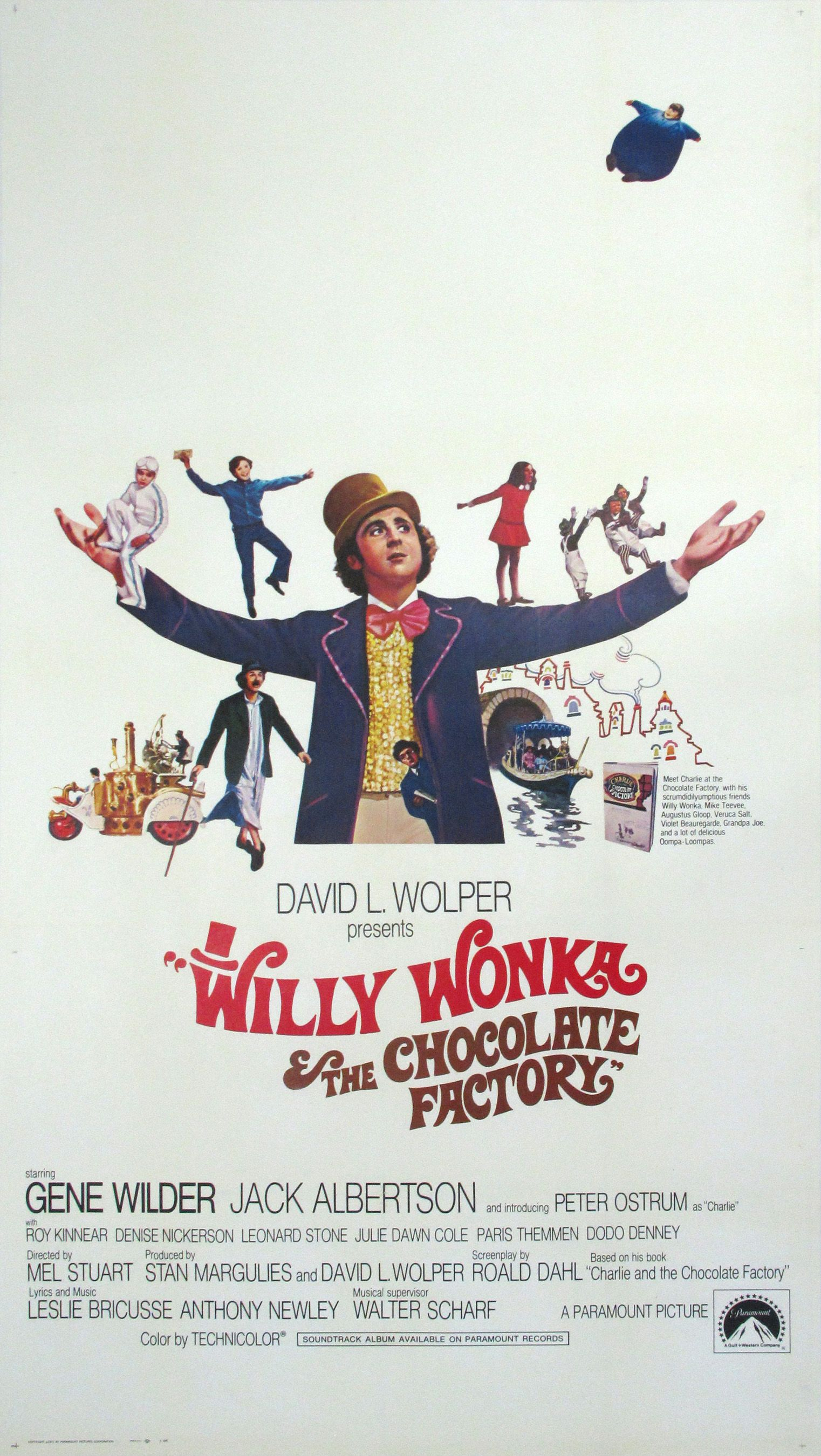 Willy Wonka & the Chocolate Factory   Snakeskin, Organza & Celluloid ...