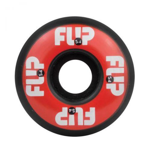 Flip Odyssey Logo 54mm - 99A Skateboard Wheels, color: Red, category/department: skate-wheels