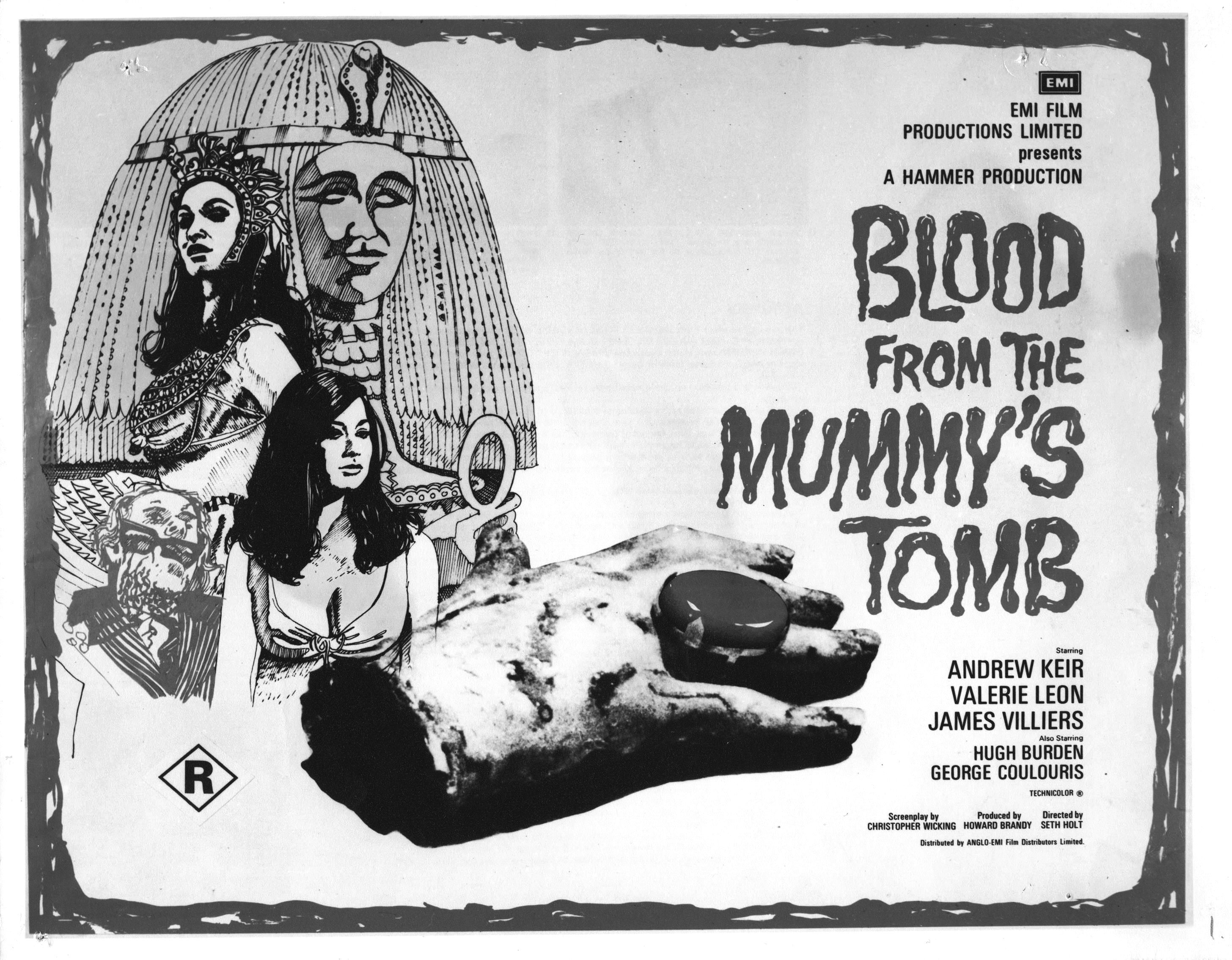 Hammer's Blood from the Mummy's Tomb (1971) | Classic horror ...
