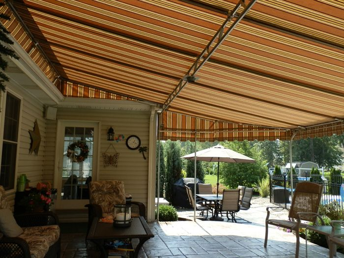 Amazing Sunbrella Awnings · Patio AwningsExterior