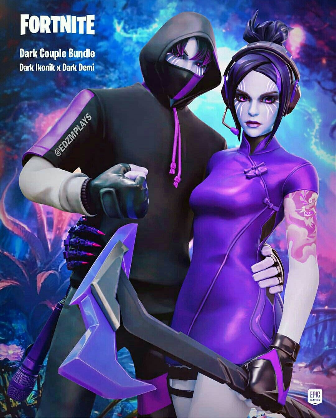 Fortnite Best Gaming Wallpapers Cute Couple Pictures Skin Images