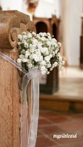 Gypsophila bei der Hochzeit ist eine beliebte Dekoration. Wir zeigen Ihnen, wie … – Boda fotos
