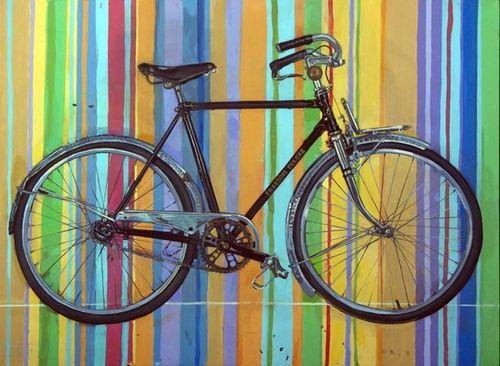 bicycle fahrr der fahrrad kunst puzzle und fahrrad. Black Bedroom Furniture Sets. Home Design Ideas