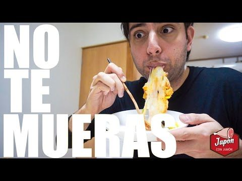 PIZZA JAPONESA QUE PARECE CHICLE: RECETA MOCHIPIZZA - YouTube