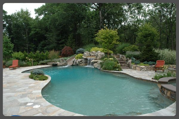 Inground Pool Landscaping Interesting Inground Pool The Idea Of An Inground Pool Is A Powerful