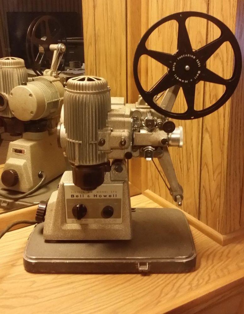 Vintage Bell & Howell Model 273 w/ Case 16mm Projector - Motor