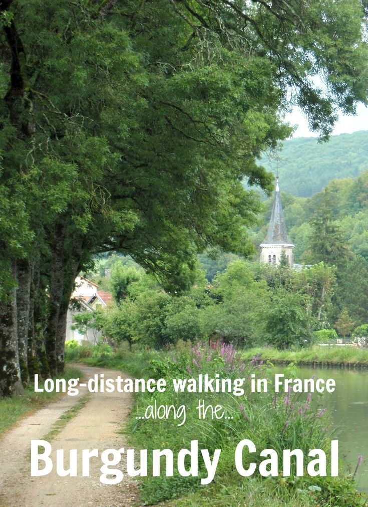 What to expect on a long-distance walk – from Pouilly-en-Auxois to Saint-Jean-de-Losne along the Burgundy Canal in France.