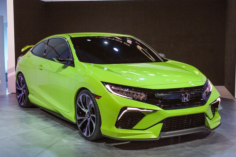 2016 Honda Civic (With images) Honda civic coupe, Honda