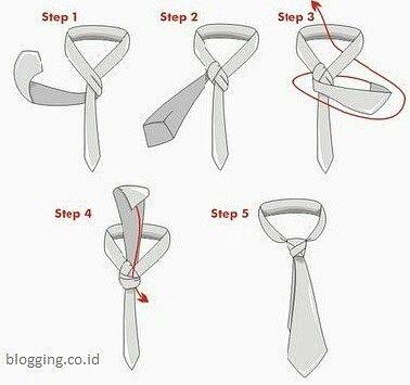 dasi simpul kecil cara memakai dasi yang benar dengan simpul kecil cocok untuk dasi