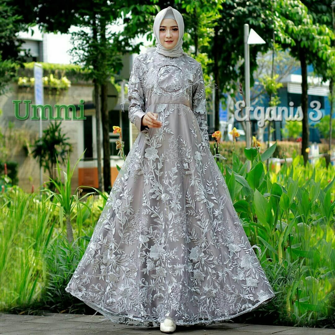 ERGANIS 3 Syari by Ummi Dress Only (geser gambar utk liat