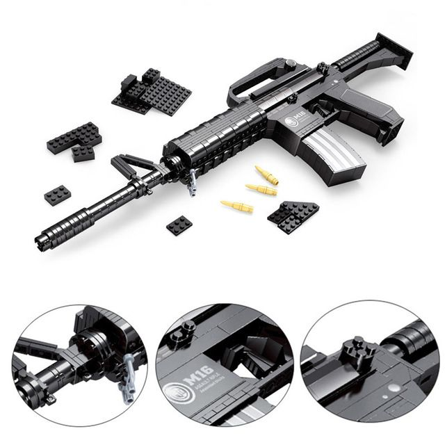 Brick M16 Automatic Rifle The Brick M16 Automatic Rifle Is A Real