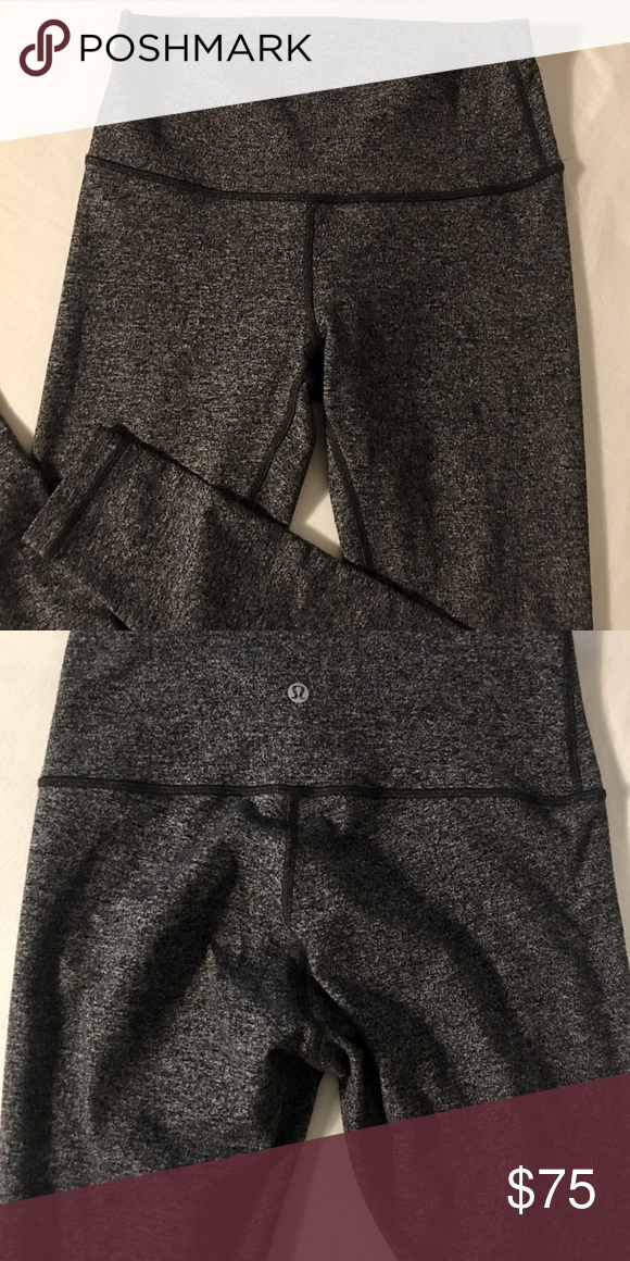 8a77c5e36eb Lululemon wunder under HR tight - size 8 Used but in great condition  lululemon athletica Pants Leggings