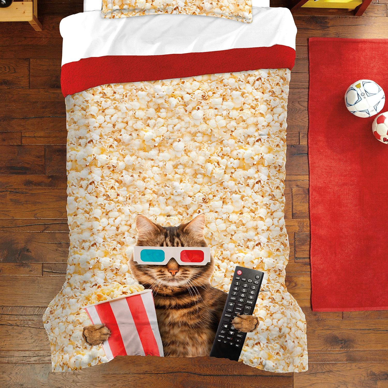 Dream Factory Movie Cat Comforter Set Movie, Factory,
