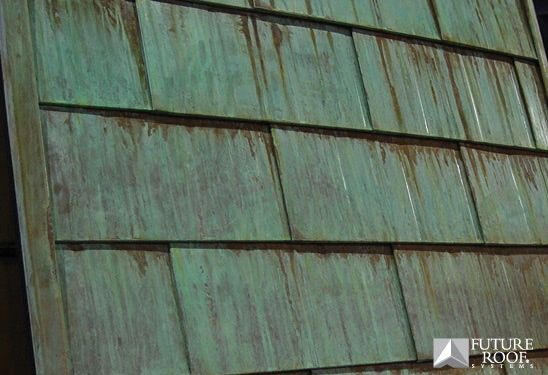 Copper Roofing Copper Roof Copper Metal Roof Stucco Homes