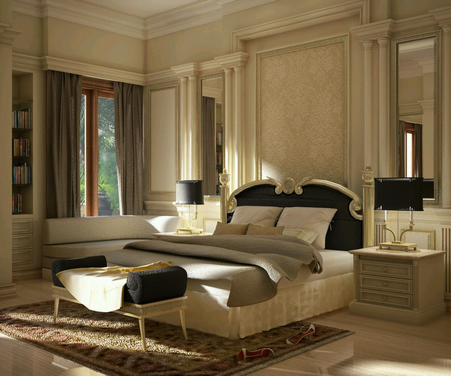 luxary bedroom | modern luxury bedroom furniture designs ideas ...