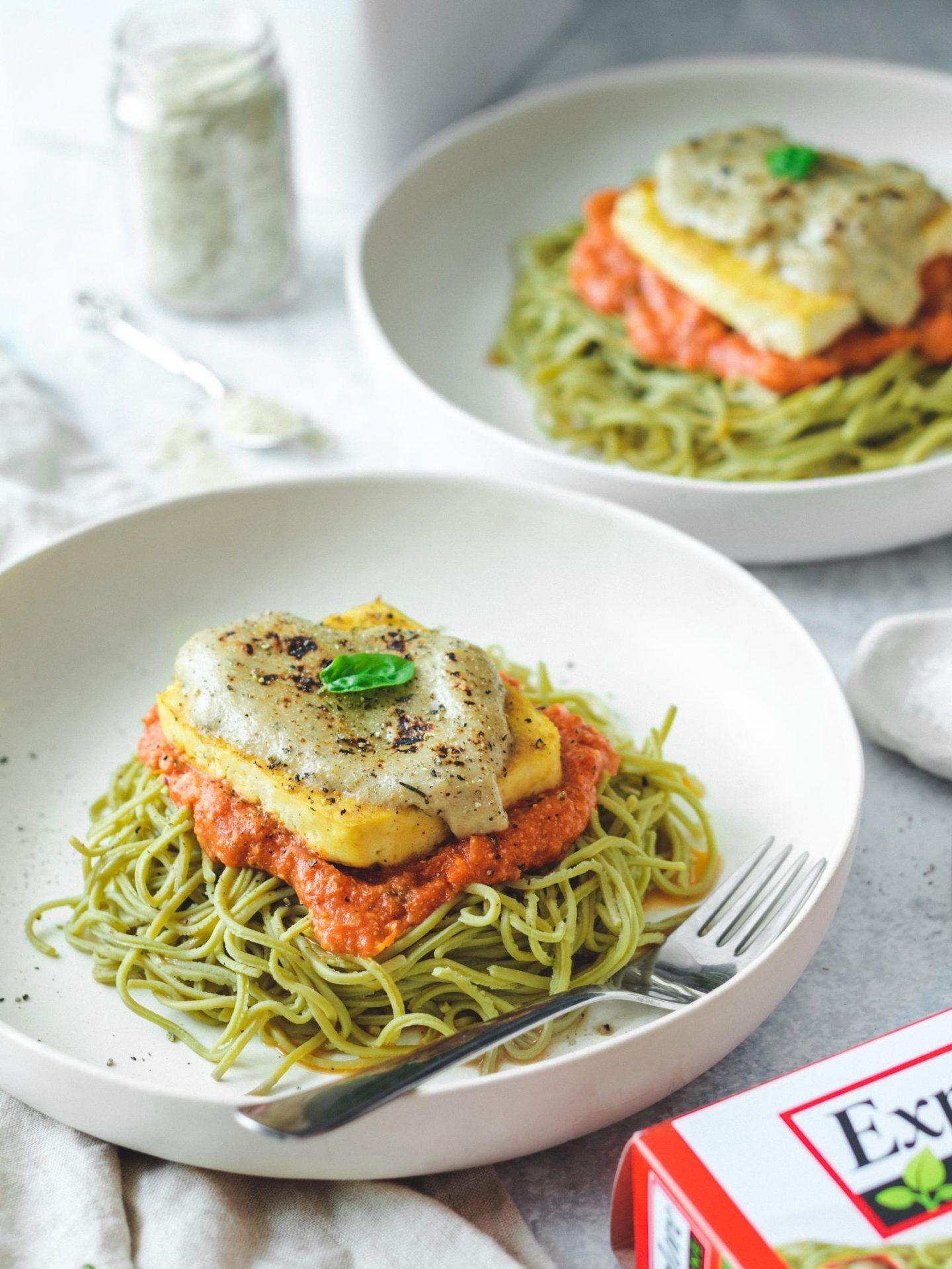 Vegan Tofu Parmigiana High Protein Recipe Healthy Foods To