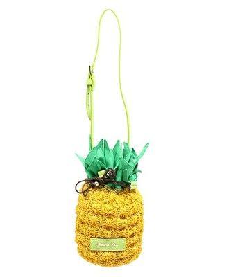 Jewelna Rose(ジュエルナローズ)パイナップルモチーフ かごバッグ