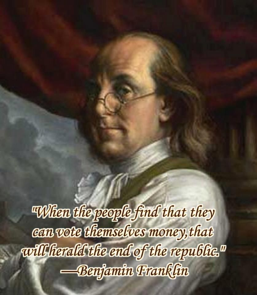 Wise And Prophetic Words From A Founding Father Not The Exact Quote But True To The Meaning Founding Fathers Quotes Historical Quotes Founding Fathers