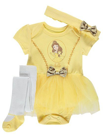 dbaa5bdd1 Disney 3 Piece Belle Tutu Set, read reviews and buy online at George at  ASDA. Shop from our latest range in Baby. A twirl-worthy choice for any  little ...