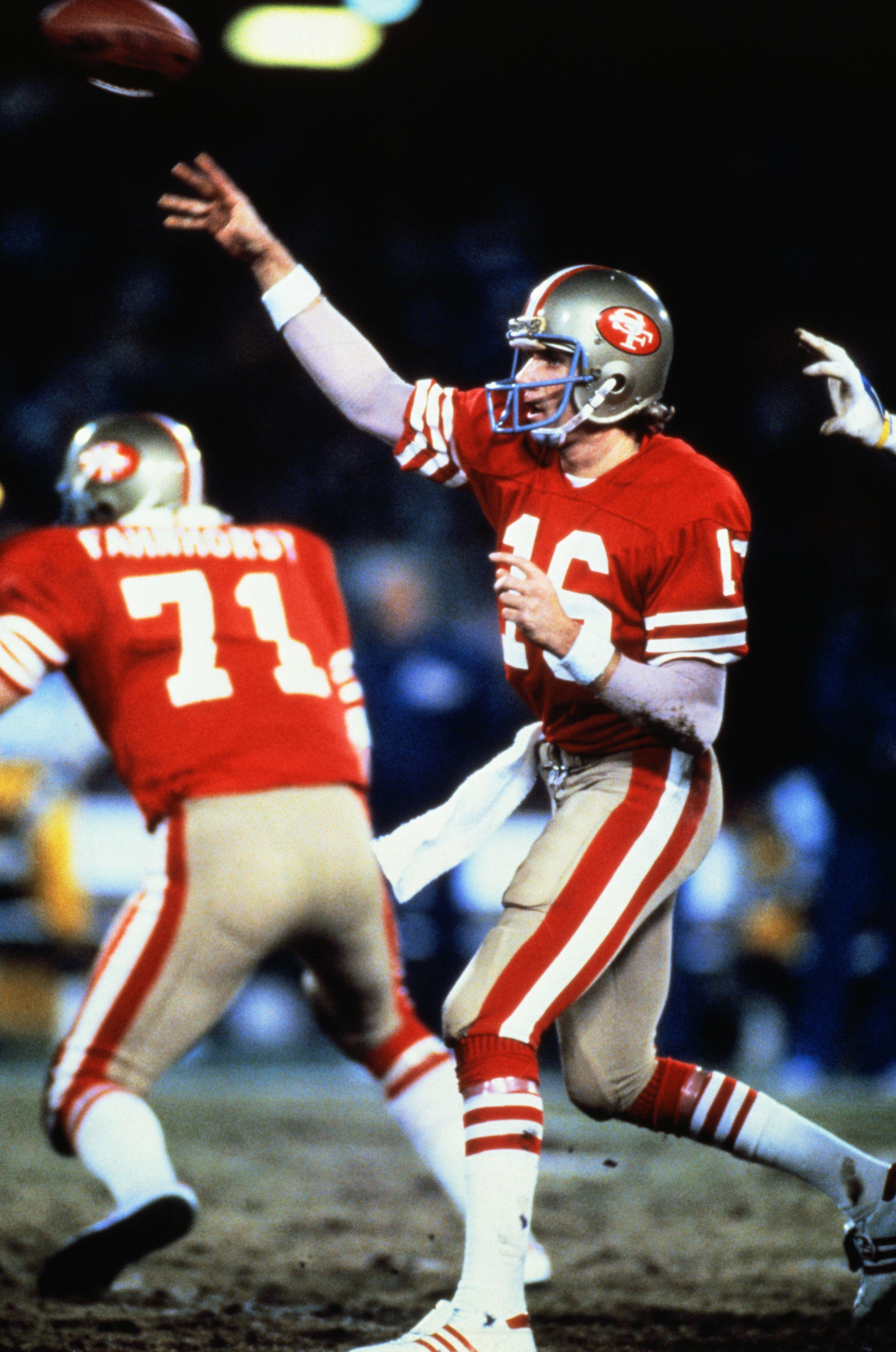 Discount joe montana throwing football Pennsylvania Pictures   NFL  hot sale