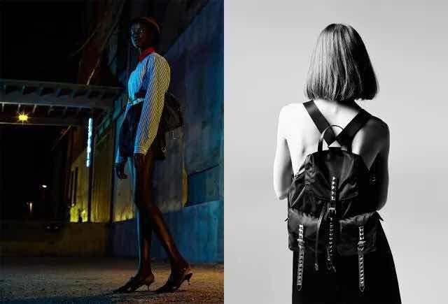 bc28e52fad14 Prada BZ811 Nylon Backpack With Rivets 2018