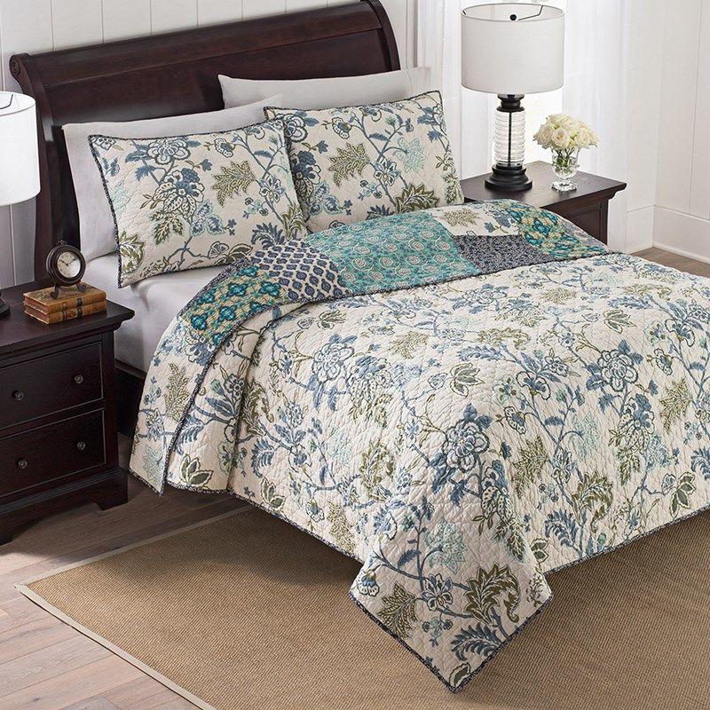 Harper Reversible Quilt Queen Bedding And Quilts Cracker
