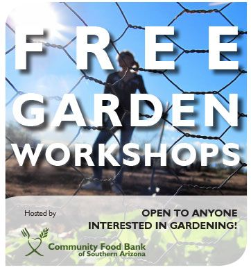 Free Garden Workshops. Space is Limited so Please Sign Up Today.