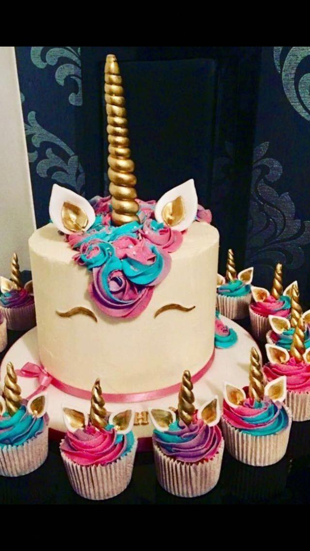 Photo of #unicorncake