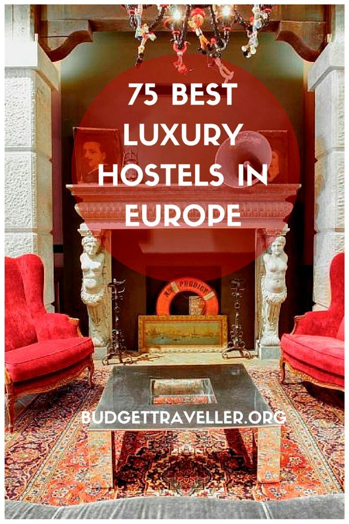 A Curated List Of The Budgettraveller's Top 75 Hostels In