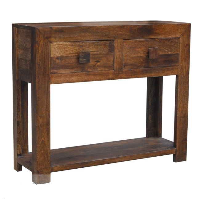 Dakota Console Table - Solid Mango Wood  Solids Console tables